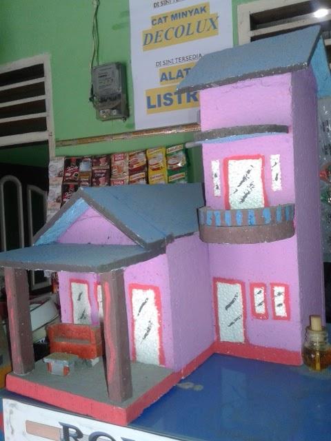Rumah Dari Styrofoam : rumah, styrofoam, Kreasi, Kreatif: