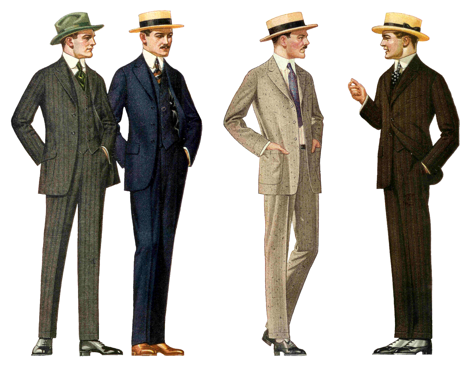 What was a continental suit vintage
