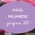 Haul Milanese - Giugno 2017