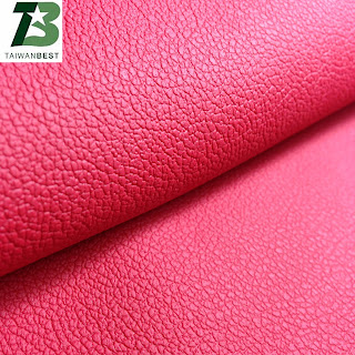 high quality pu leather with color pink 2