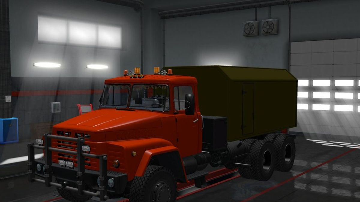 Truck - Kraz 260 [1.30]