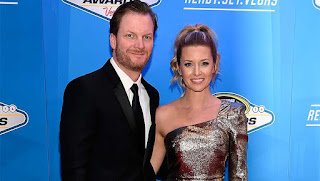 Dale Earnhardt Jr And His Wife Amy Reimann