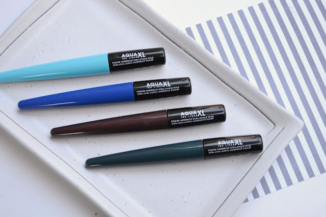 MAKE UP FOR EVER Aqua XL Ink Liner Review with Swatches