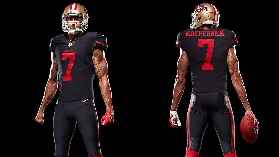 49ers to Wear Black Alternate Uniforms vs Minnesota Vikings - 49ers alternate uniforms
