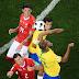 Brasil sai na frente, mas permite empate da Suíça na estreia na Copa