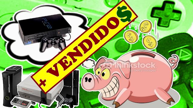 Os videogames mais vendidos de todos os tempos