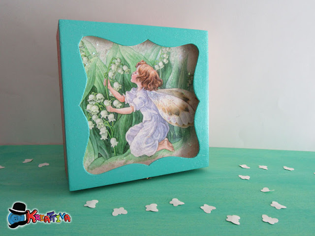 Come decorare una scatolina in decoupage