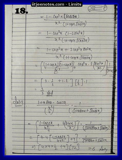 limit notes8