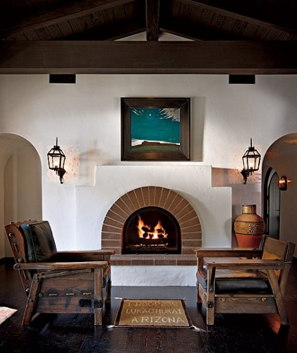 Spanish Colonial Architecture: RAZMATAZ: Diane Keaton's Beverly Hills Spanish Colonial