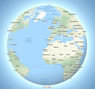 """Google Maps diu """"adéu"""" a Mercator, però només en certes escales"""