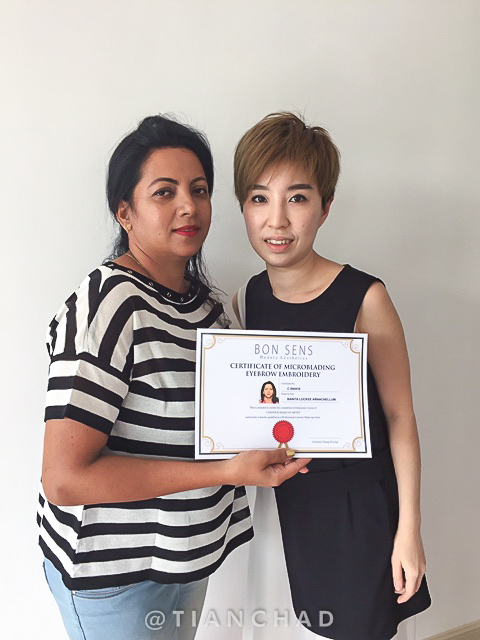Professional Contour & Eyebrow Embroidery Course】 by Ivy