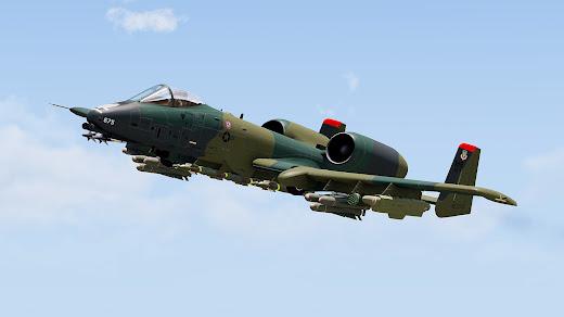 Arma3用A-10 Warthog攻撃機MOD