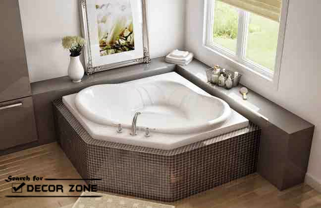 Corner Bath Designs Materials And Features