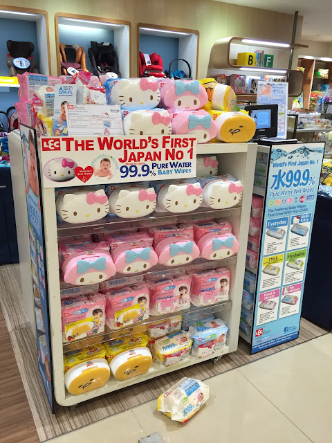99.9% pure water baby wipes Isetan KL