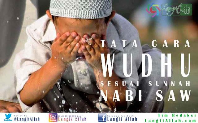 Tata Cara Wudhu Yang Benar Sesuai Sunnah Nabi SAW (langitallah.com)