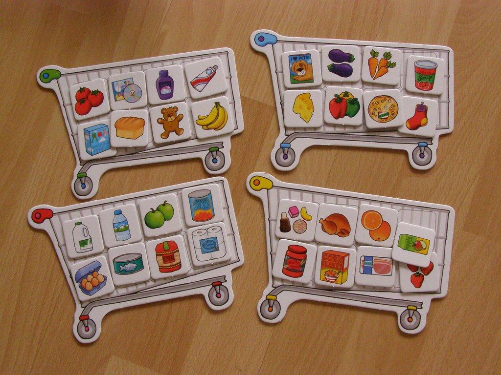 Poznajemy Montessori Shopping List In Five Languages