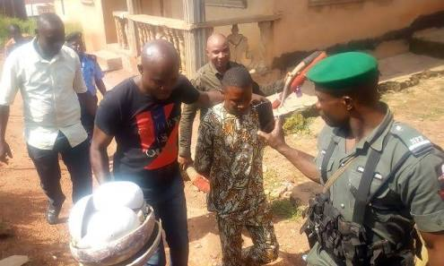 Police Burst Lagos 419 Syndicate's Spiritual Shrine (Photos)