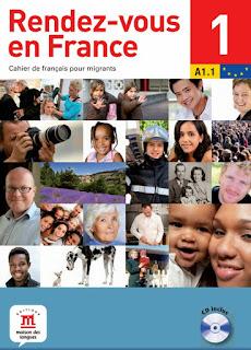كتاب موعدنا في فرنسا Rendez-vous en France  لتعلم اللغة الفرنسية
