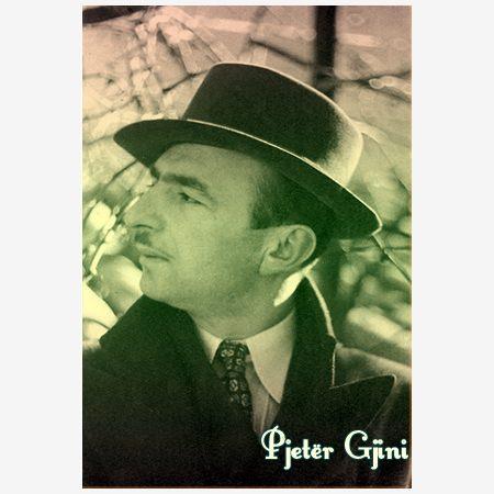 Pjeter Gjini poet, publicist, humorist, muzikant dhe perkthyes