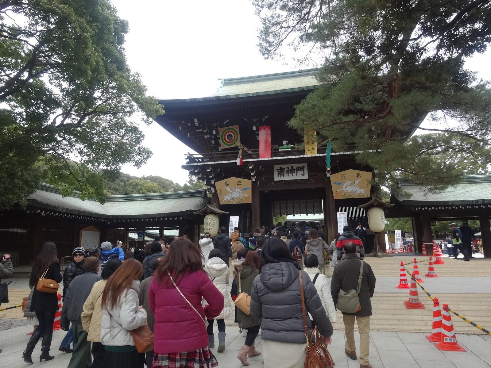 明治神宮,原宿,神社,初詣〈著作権フリー無料画像〉Free Stock Photos