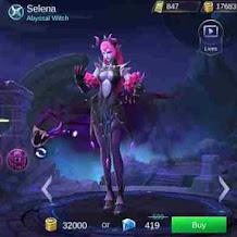Baru Selena Mobile Legend, Ngeri Hingga Membuat Alice Ketakutan