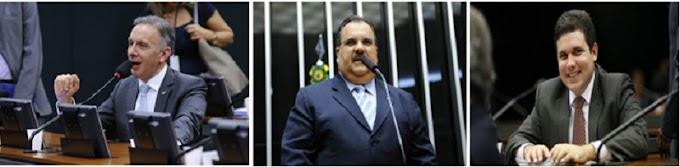 Aguinaldo Ribeiro, Rômulo Gouveia e Hugo Motta são os mais faltosos da bancada paraibana na Câmara
