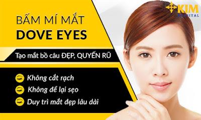 Bấm mắt Dove Eyes