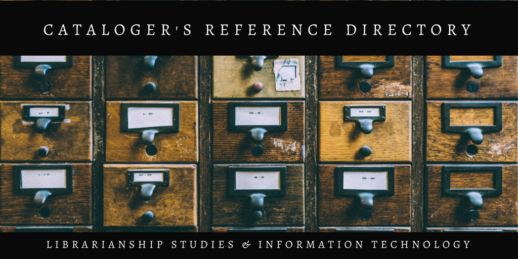 Cataloger's Reference Directory