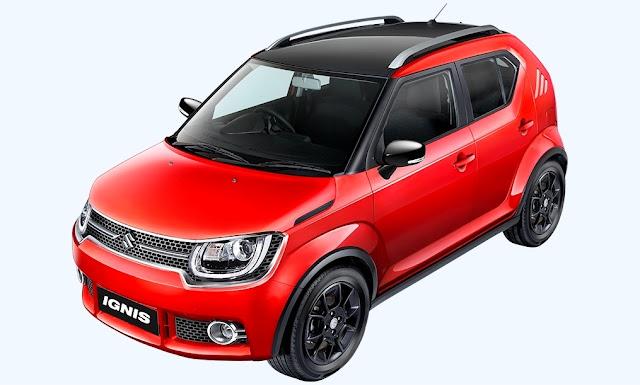 Mobil Suzuki Ignis Crossover Murah Mirip Mini Cooper