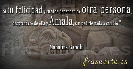 Citas para amar de Mahatma Gandhi