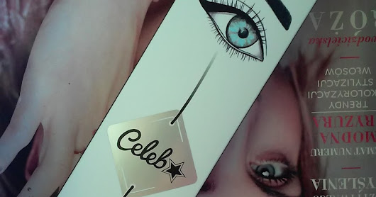 Lovely Celeb Kit, Gel Eyeliner + Eye Pencil + Brush (Żelowy eyeliner + kredka do oczu + pędzelek)