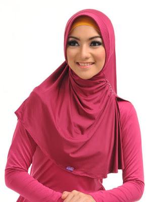 contoh model hijab simple dan praktis 6