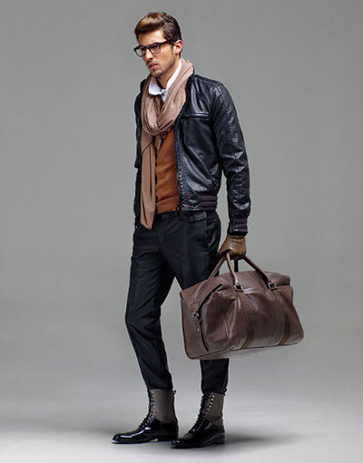 Modern Fashion Model Latest Men Winter Fashion Trends 2011