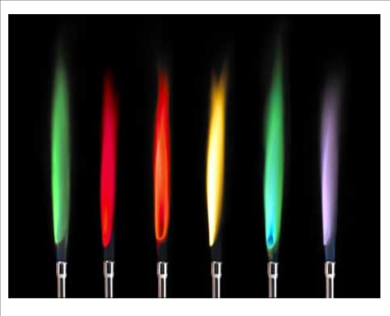 chemistry lab flame test to determine Experiment 4 physical and chemical  analysis of metal ions by the flame test  many times reversibility of the state of matter can be used to determine.