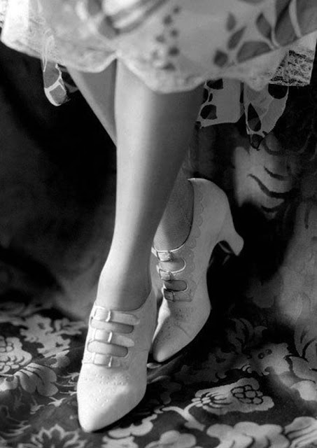Lovely white shoes