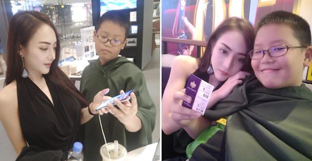 Bocah 10 Tahun ini Belikan iPhone X Untuk Pacarnya Yang Seksi | Image : Facebook