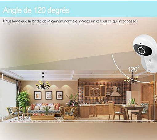 caméra de surveillance à distance