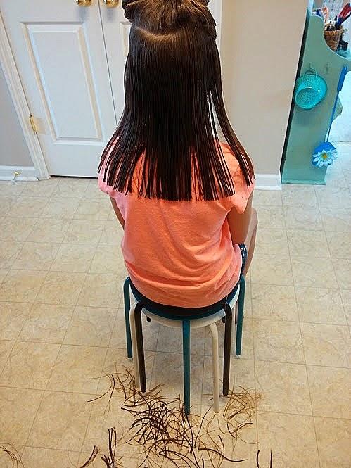 How To Cut Long Hair Diy Beautify