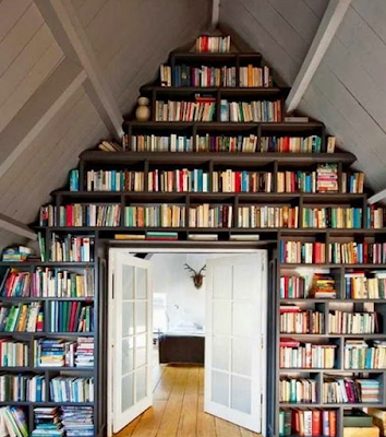 desain perpustakaan mini dirumah