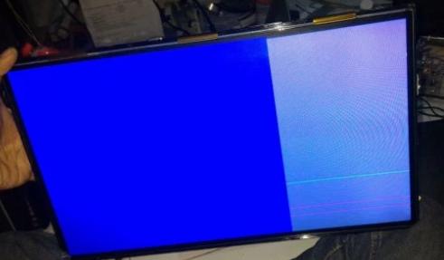 Memperbaiki Tv Lcd Gambar Cuma Separuh Layar Pcb Servis