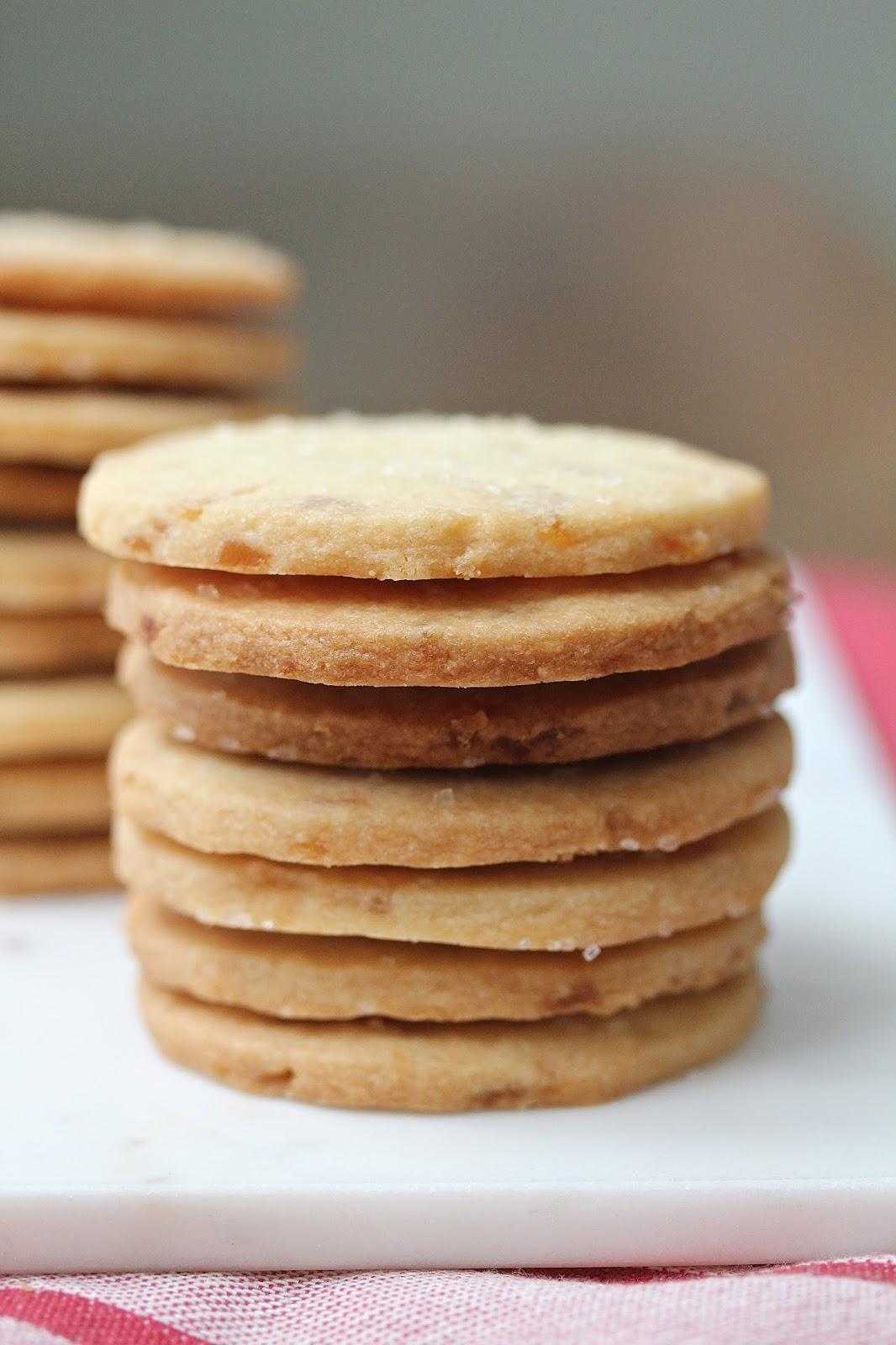 Crystallized Ginger Shortbread Cookies | #CreativeCookieExchange ...