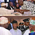 Sworn enemies: Tinubu, Fayose and Bode George all smiles in new photo