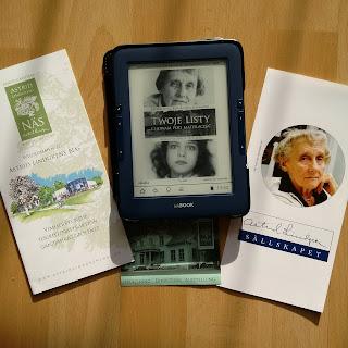 """Przeczytałam korespondencję dwóch pokrewnych dusz. Recenzja książki """"Twoje listy chowam pod materacem. Korespondencja 1971 - 2002""""  Astrid Lindgren i Sara Schwardt."""