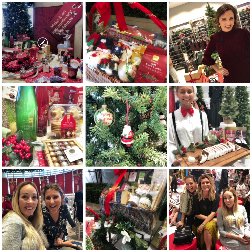 Dubai our sandbox festive morning with marks and spencer and marks spencer is a great go to shop to treat yourself or someone special this festive season they have so many lovely things well sourced for quality negle Gallery