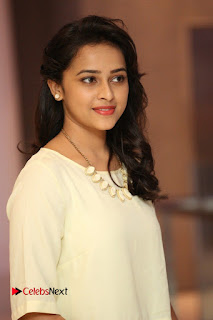 Actress Sri Divya Pictures in Jeans at Rayudu Movie Team Interview  0090