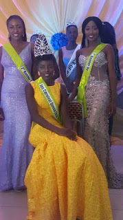 Onyx Models 'Murjanatu Douglas' Crowned Queen Of 'Miss Jos Carnival 2018'