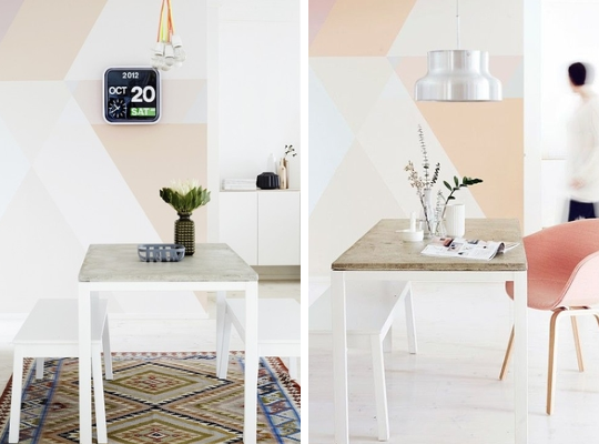 pastel paint creative walls