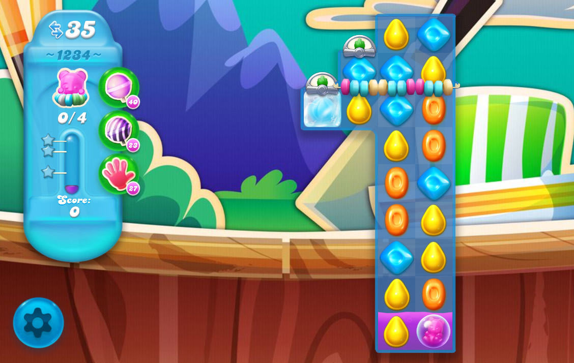 Candy Crush Soda Saga level 1234