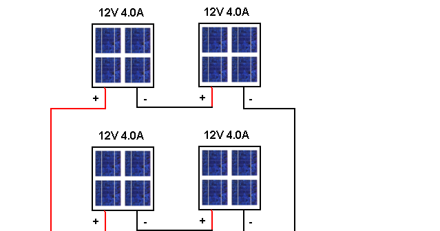 Series Parallel Connecting Solar Panels ~ Circuit Wiring Diagram Must Know