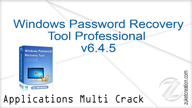 Windows Password Recovery Tool Professional v6.4.5   |  360 MB